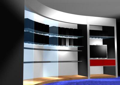 Closet con Curva B