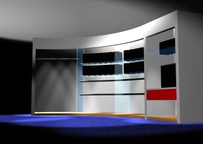 Closet con Curva C